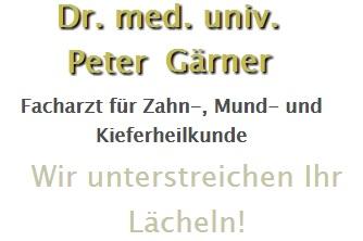 Bild von Dr. Peter Johannes Gärner