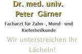 Gärner Peter Johannes Dr.